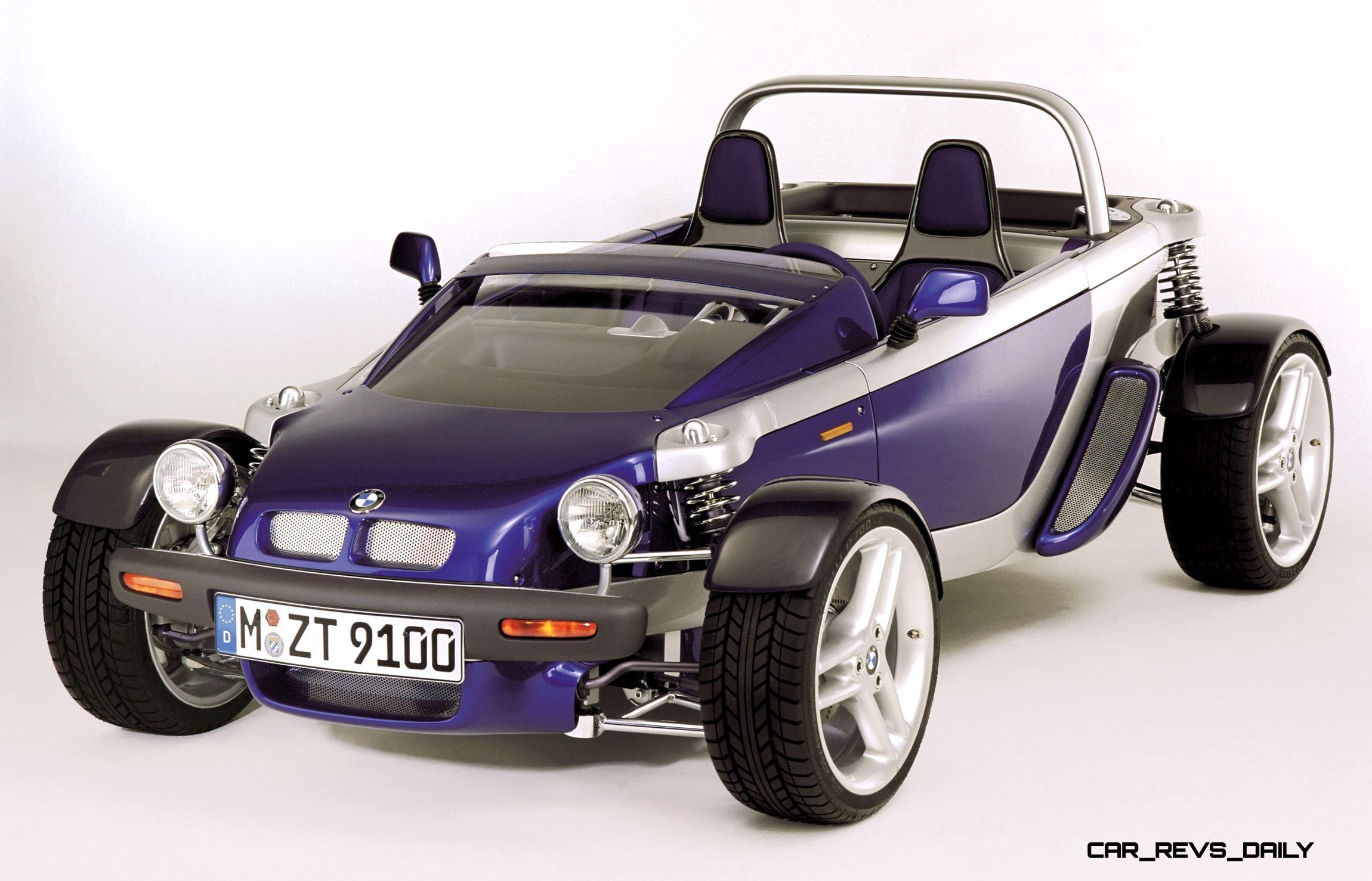 Concept Flashback - 1995 BMW Z21 Just 4/2