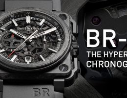 Bell & Ross BR-X1 Skeleton Carbon Forgé Leads New Lightweight Timepiece Collection