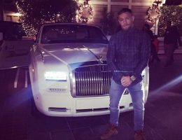 UFC Hero Conor McGregor Scores 2015 Rolls-Royce Phantom Drophead