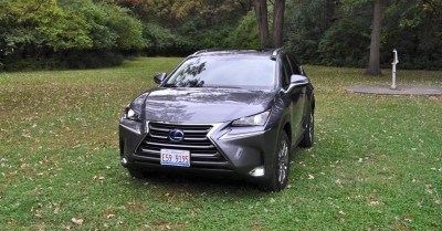 2015 Lexus NX300h Review 8