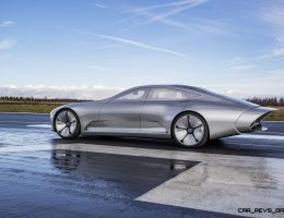 2015 Mercedes-Benz Concept IAA – Extreme Teardrop Drips Elegance for New Photoshoot