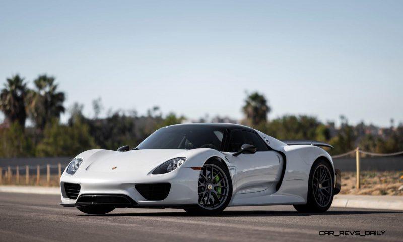 2015 Porsche 918 Spyder Weissach Pack 1