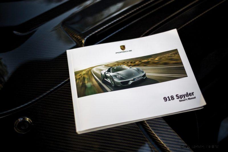 2015 Porsche 918 Spyder Weissach Pack 28