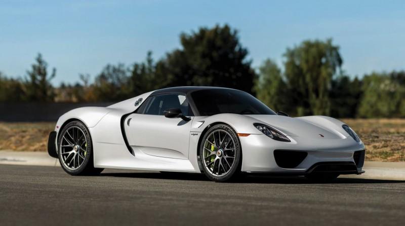 2015 Porsche 918 Spyder Weissach Pack 34