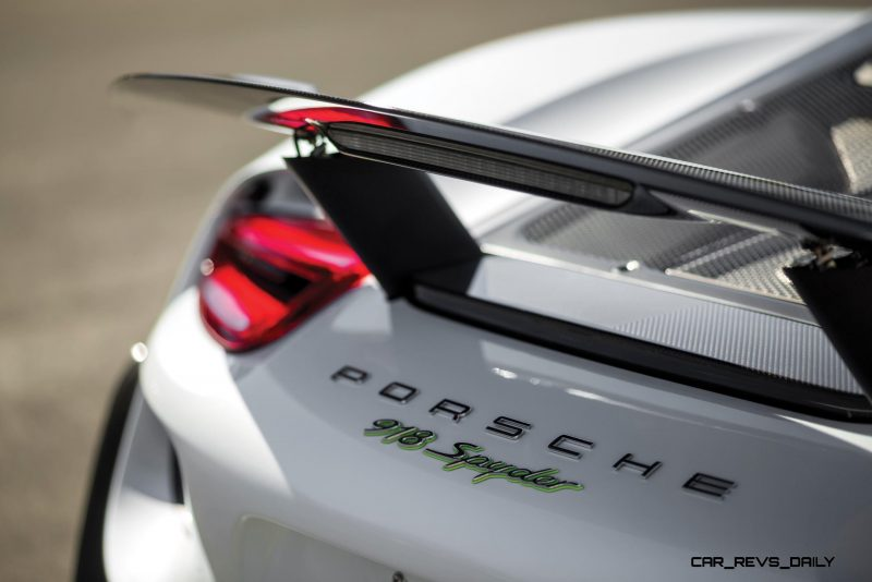 2015 Porsche 918 Spyder Weissach Pack 6
