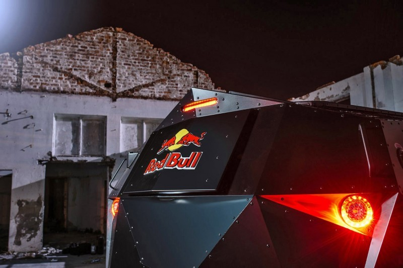 2015 South African RED BULL Concept Truck is Defender 130 APC 10