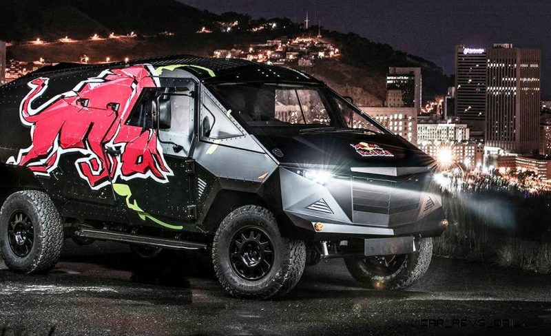 2015 South African RED BULL Concept Truck is Defender 130 APC 12