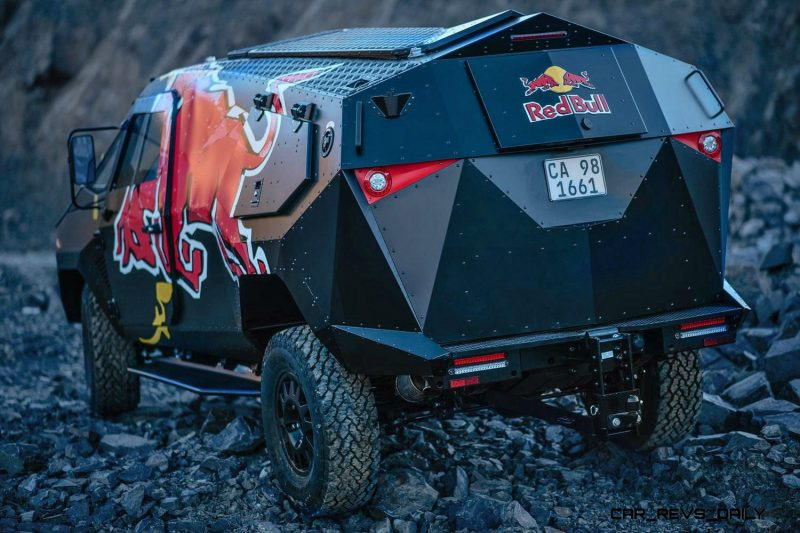 2015 South African RED BULL Concept Truck is Defender 130 APC 15