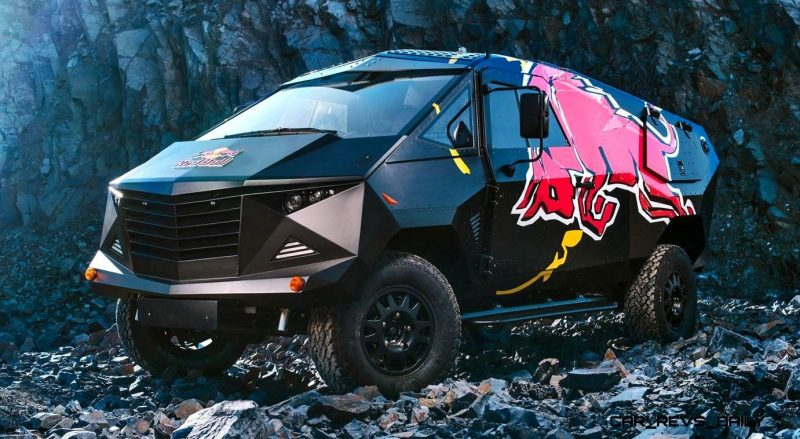 2015 South African RED BULL Concept Truck is Defender 130 APC 18