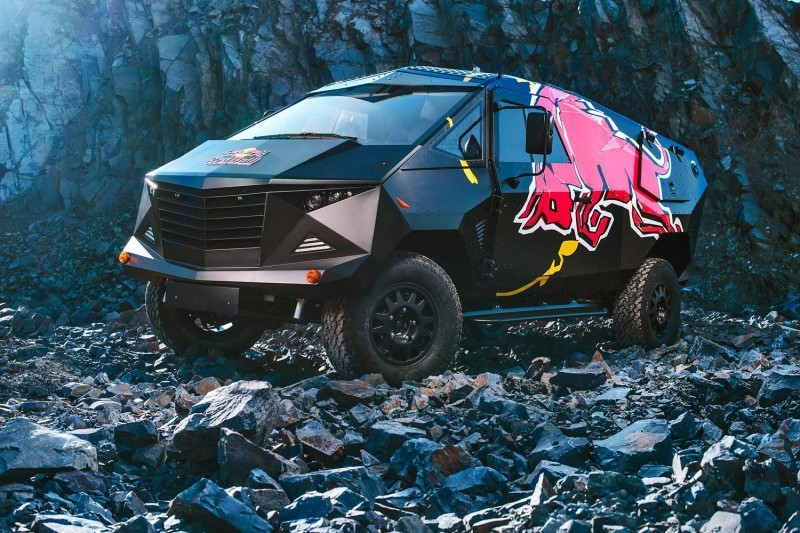 2015 South African RED BULL Concept Truck is Defender 130 APC 19