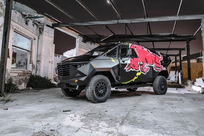 2015 South African RED BULL Concept Truck is Defender 130 APC 2
