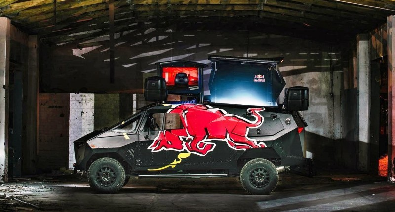2015 South African RED BULL Concept Truck is Defender 130 APC 21