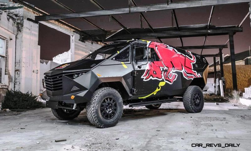 2015 South African RED BULL Concept Truck is Defender 130 APC 22