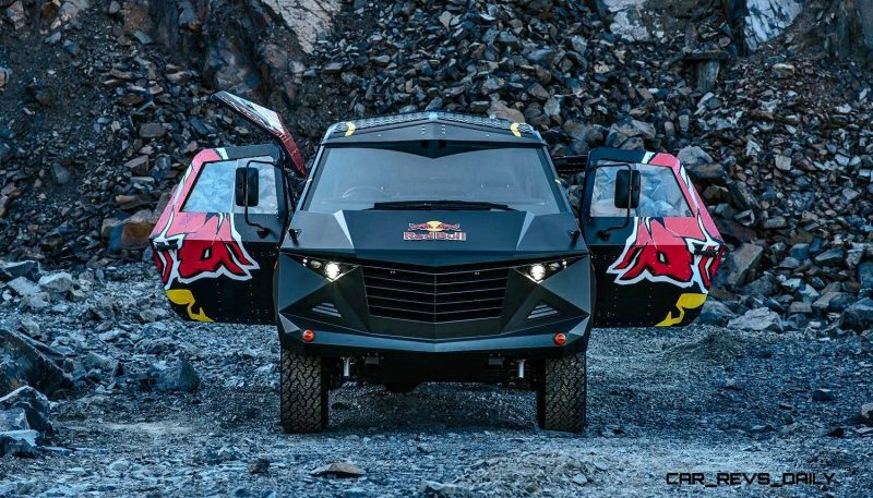 2015 South African RED BULL Concept Truck is Defender 130 APC 4