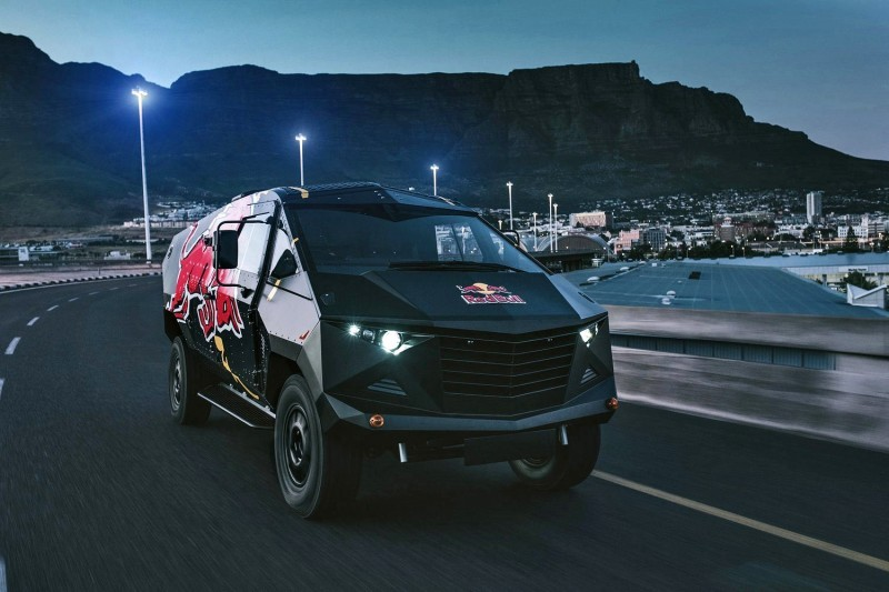 2015 South African RED BULL Concept Truck is Defender 130 APC 6