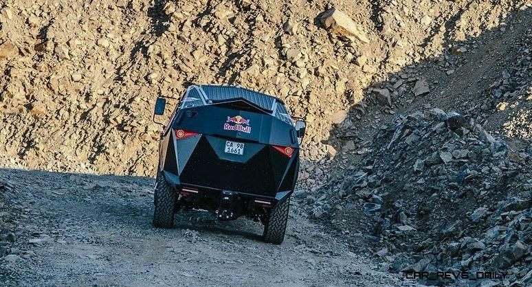 2015 South African RED BULL Concept Truck is Defender 130 APC 9