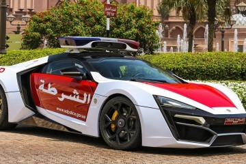 2015 W Motors LYKAN HyperSport Abu Dhabi 2