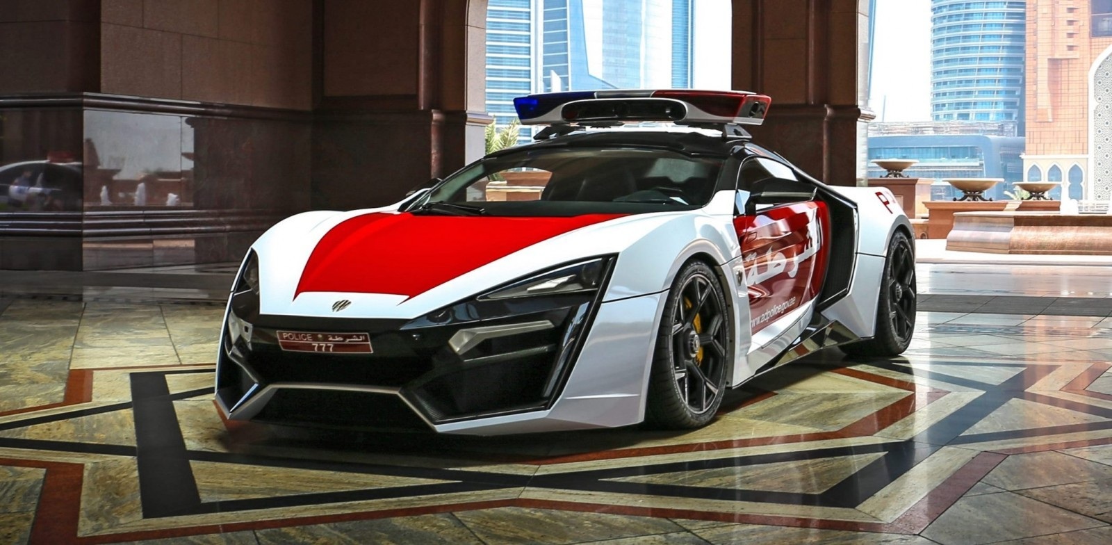 2015 W Motors Lykan Hypersport Abu Dhabi Patrol Car