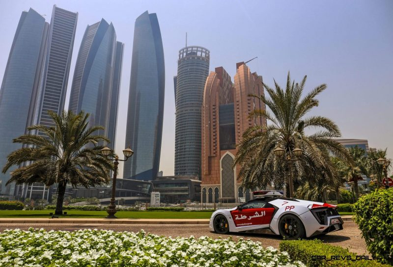 2015 W Motors LYKAN HyperSport Abu Dhabi Patrol Car 1