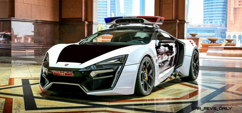 2015 W Motors LYKAN HyperSport Abu Dhabi Patrol Car 22