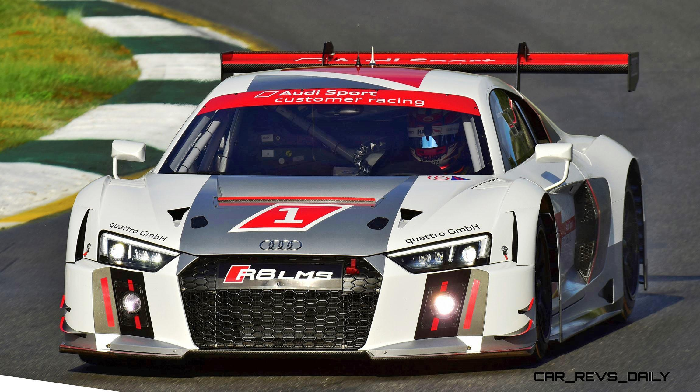 2016 Audi R8 Lms New Open Aero Design Analysis Specs And Pricing