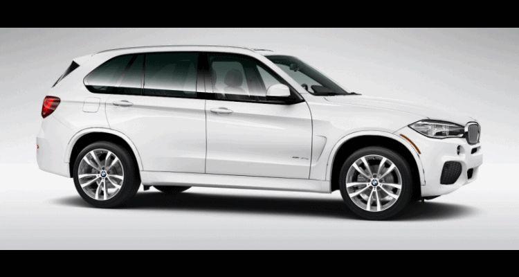 2016 BMW X5 xDrive40e M Sport alpine white turntabkle