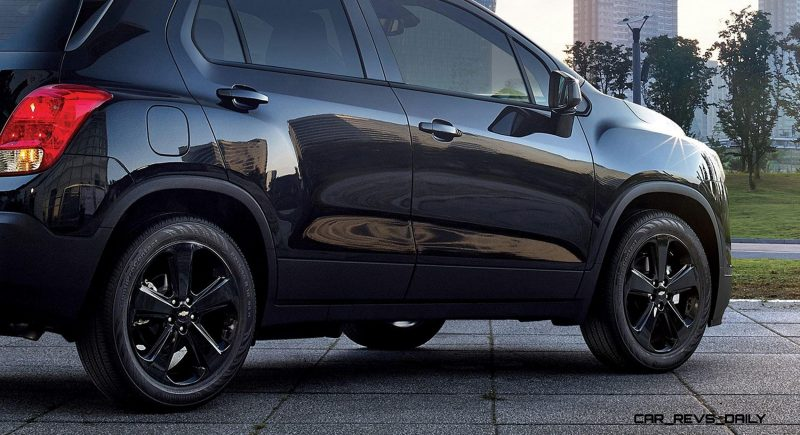 2016 Chevrolet Trax Midnight Edition. The Trax Midnight Edition goes on sale late February 2016.