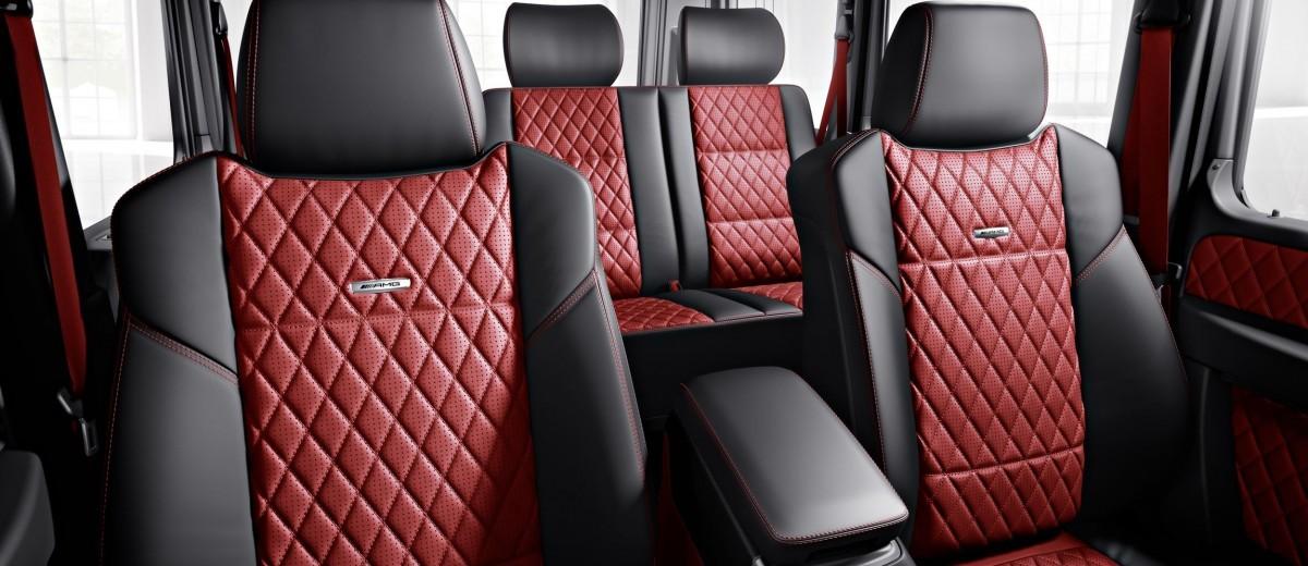 home - White G Wagon Red Interior