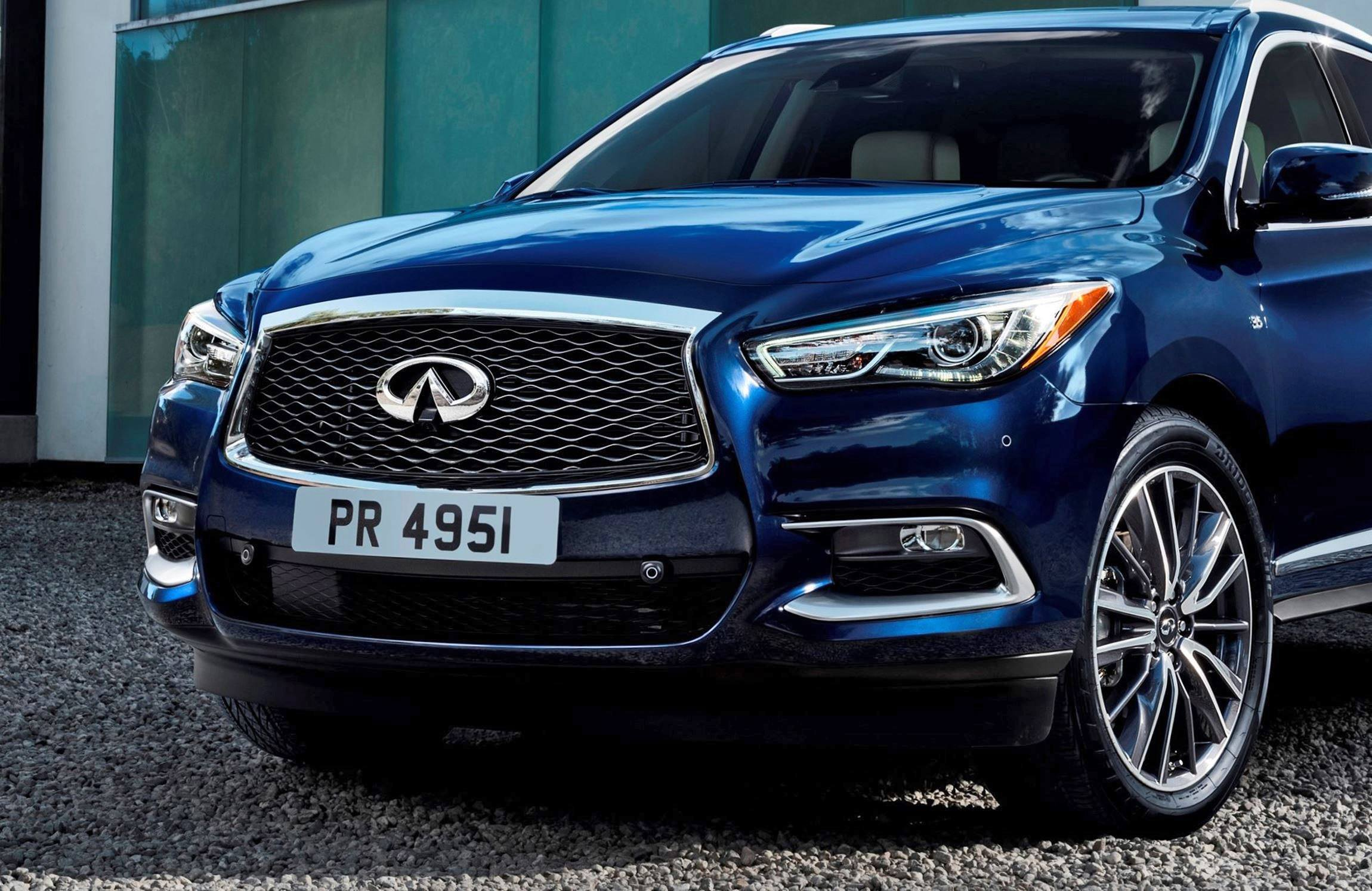2016 infiniti qx60 shows fresh style retuned chassis updates car revs. Black Bedroom Furniture Sets. Home Design Ideas