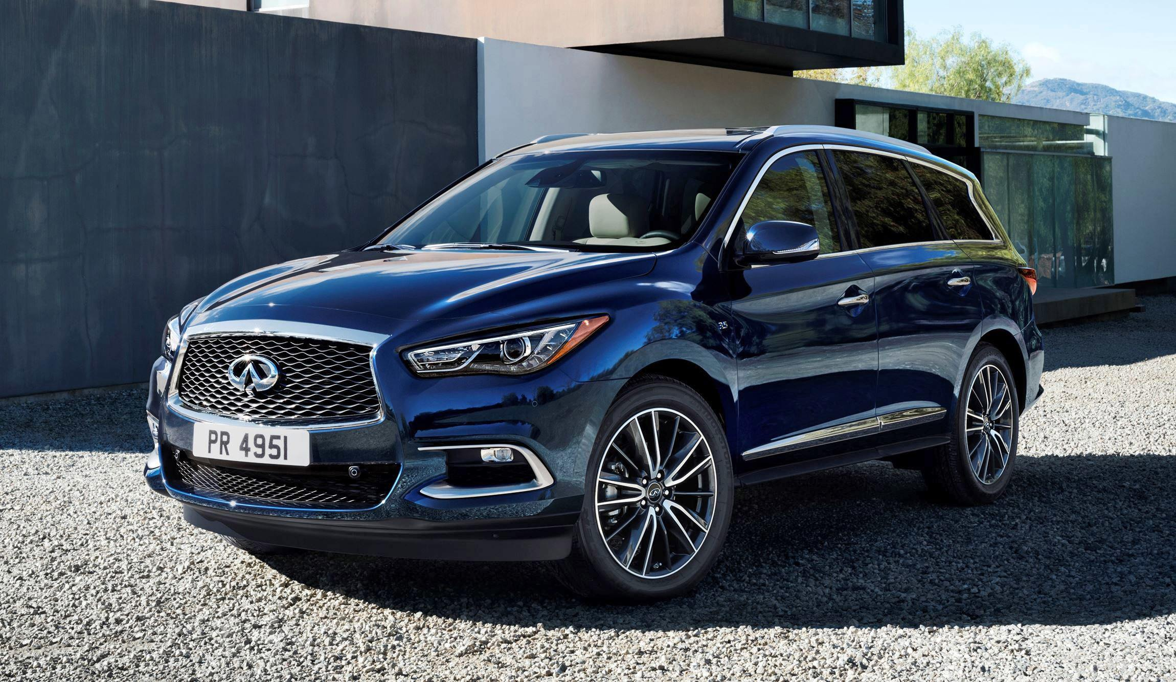 2016 infiniti qx60 shows fresh style retuned chassis updates. Black Bedroom Furniture Sets. Home Design Ideas