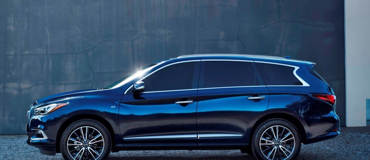 2016 INFINITI QX60 Shows Fresh Style, Retuned Chassis ...