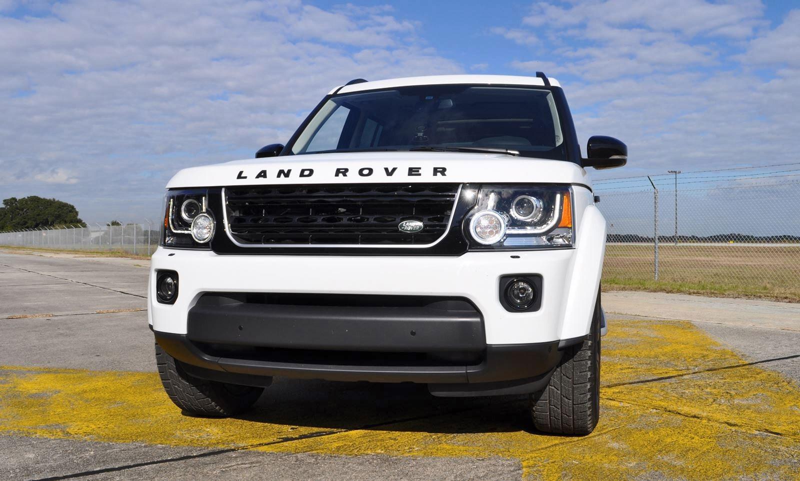 hd road test review 2016 land rover lr4 hse black pack. Black Bedroom Furniture Sets. Home Design Ideas
