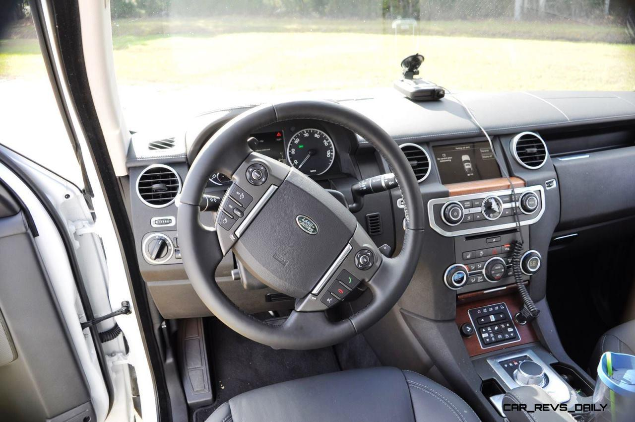 2016 Land Rover Lr4 Hse Lux Black Package Interior 13