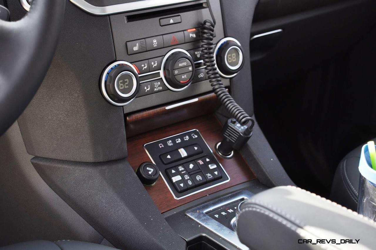 2016 Land Rover Lr4 Hse Lux Black Package Interior 14