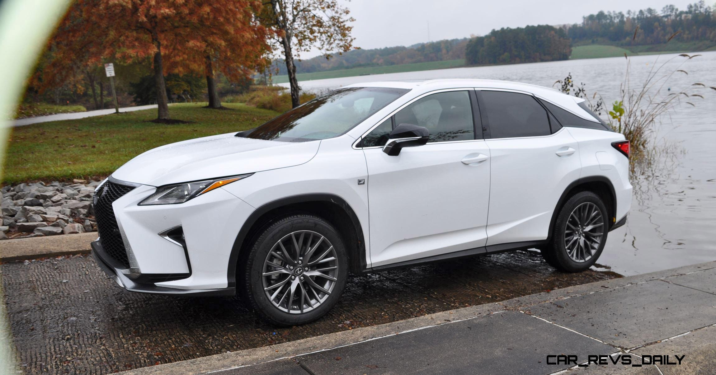 2016 lexus rx reviews roundup 150 all new rx350 f sport photos in ultra white. Black Bedroom Furniture Sets. Home Design Ideas