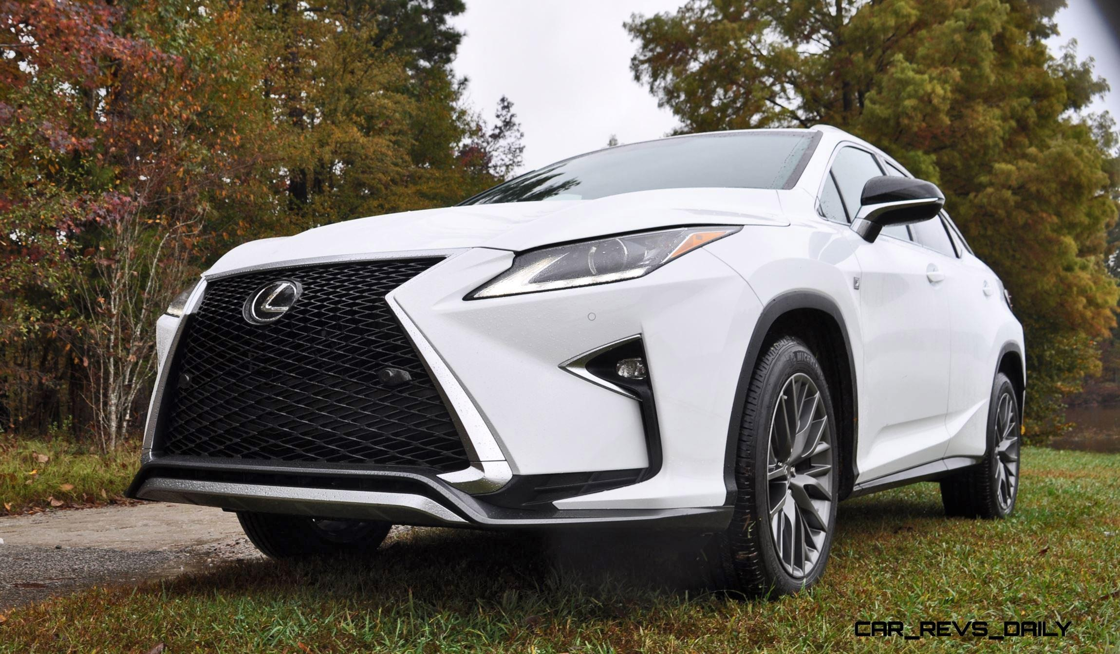 2016 lexus rx reviews roundup 150 all new rx350 f sport photos in ultra white car revs. Black Bedroom Furniture Sets. Home Design Ideas