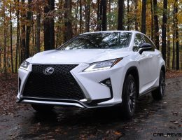 2016 Lexus RX – Reviews Roundup + 150 All-New RX350 F Sport Photos in Ultra White