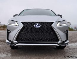 HD Road Test Review – 2016 Lexus RX450h F Sport AWD – A Plush Rush?!