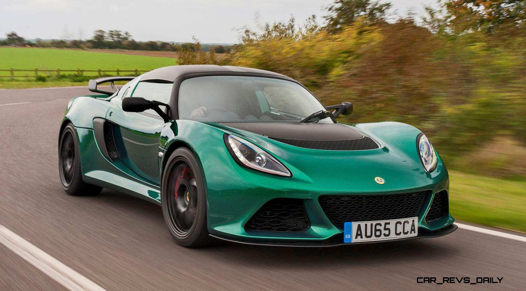 170mph 2016 lotus exige sport 350 is new road legal cup racer car revs. Black Bedroom Furniture Sets. Home Design Ideas