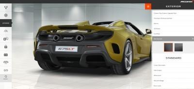2016 McLaren 675LT Spider - Configurator 19