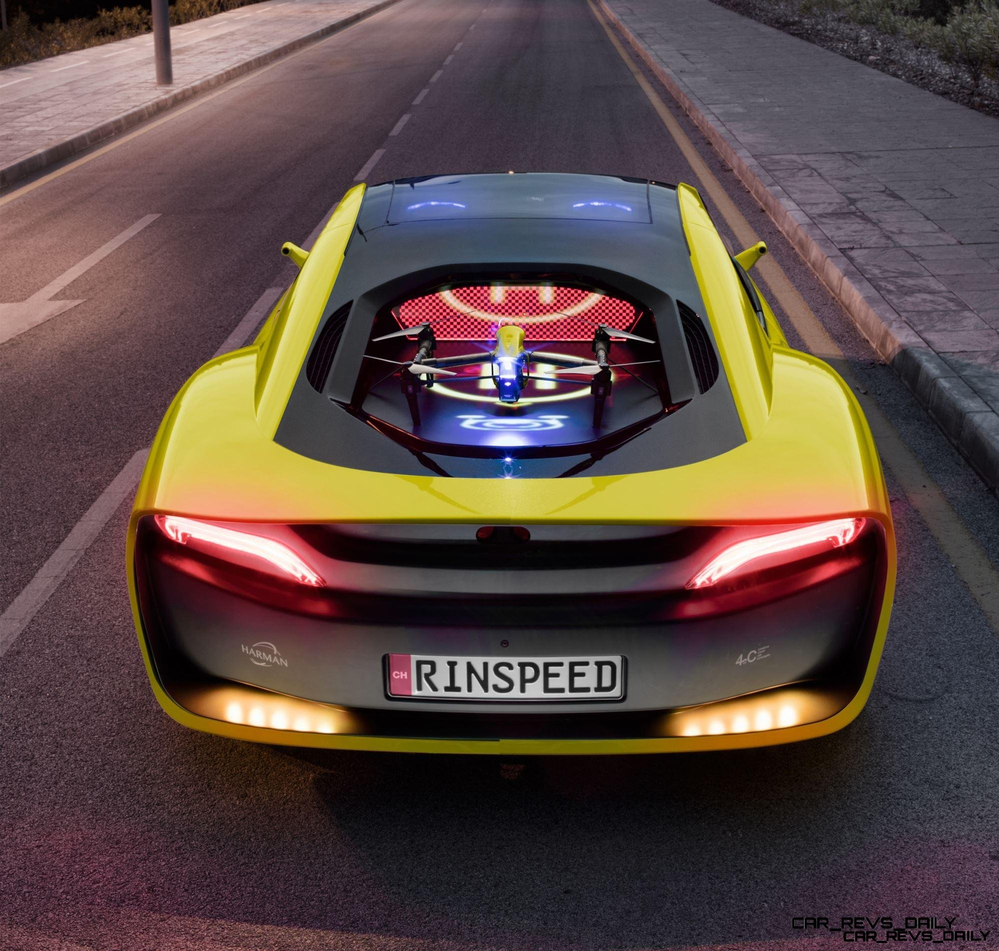 Future Cars: Self-Driving, Drone-Launching