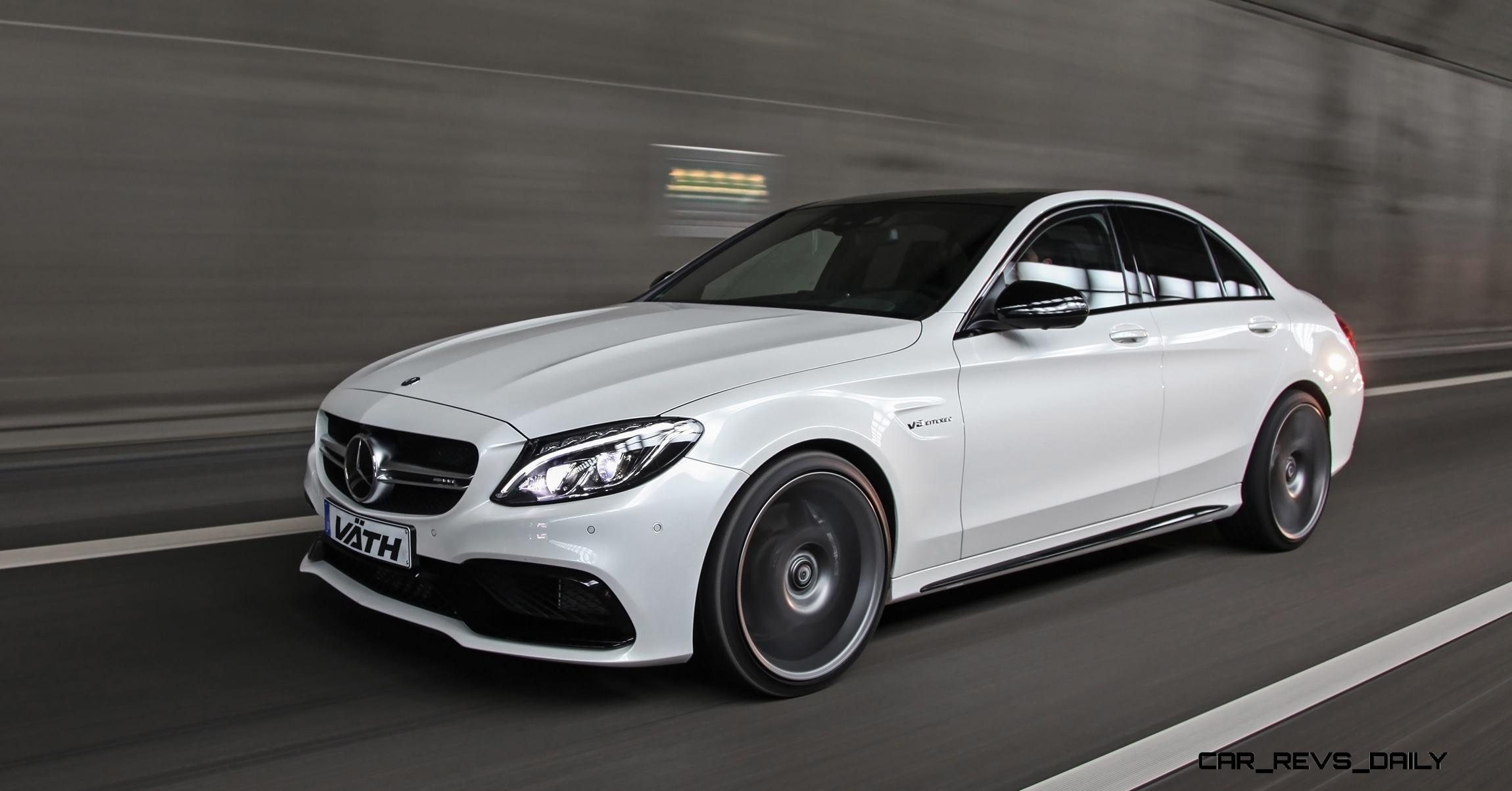 680HP, 199MPH 2016 VÄTH Mercedes-AMG C63-RS Delivers Massive ...
