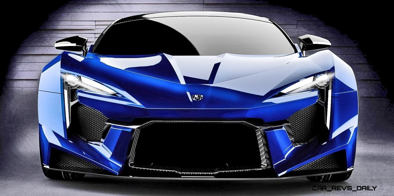 2016 W Motors FENYR SuperSport COLORS Fantasy Visualizer