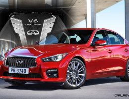 All-New V6TT 2016 INFINITI Q50 Red Sport 400 Tops New Four-Engine Range!