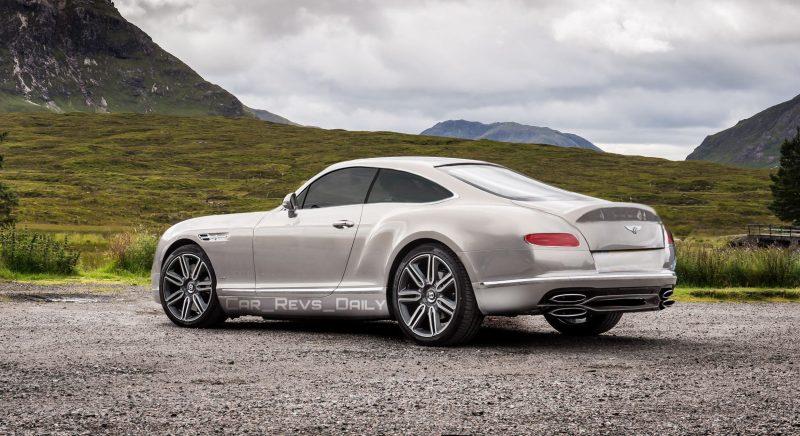 2017 Bentley Continental R-Type Rendering