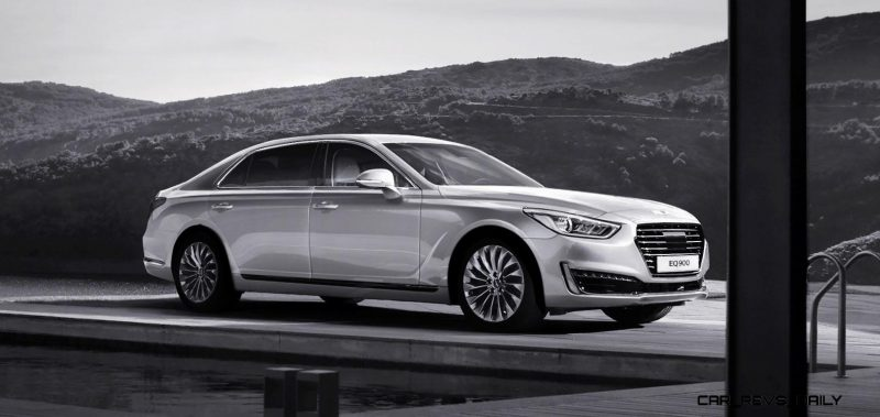 2017 Hyundai Genesis G90 Limousine Release Date Review And Price >> 2017 Genesis G90 World Premiere Tech Specs And 100 Images Inside