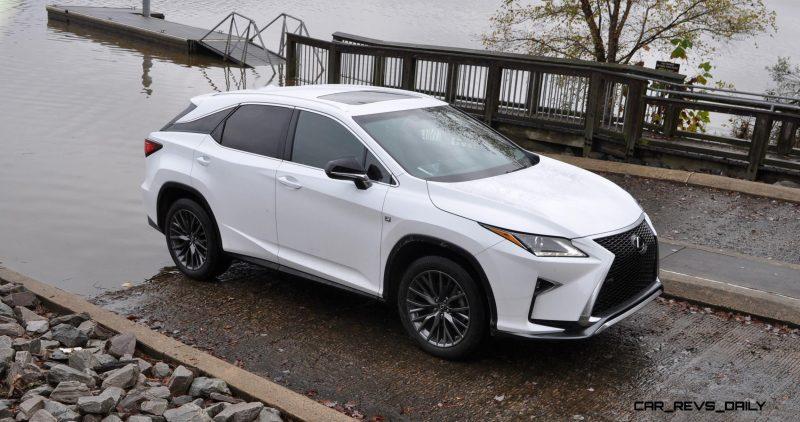2017 Lexus RX-L Renderings 1