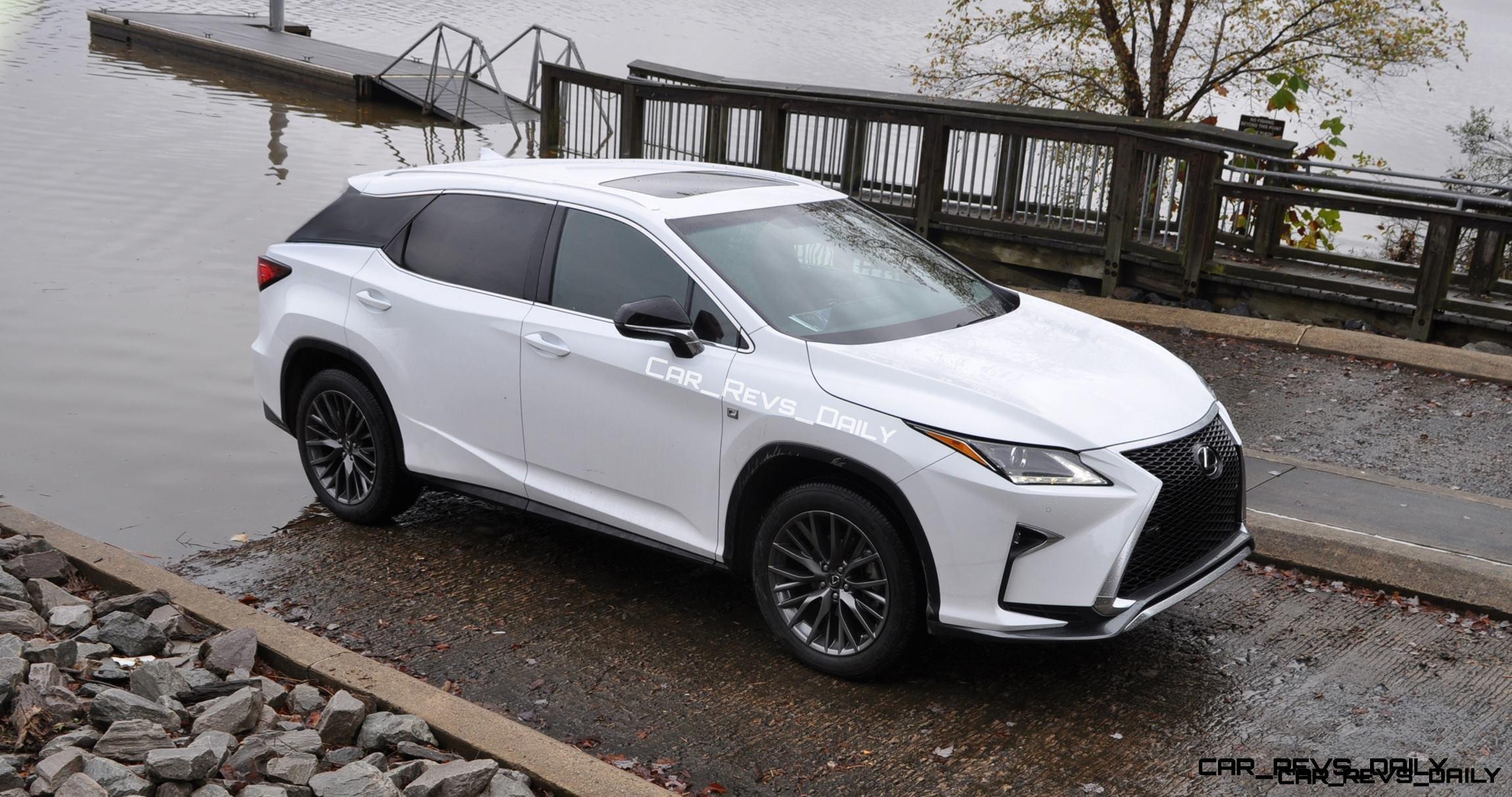 2017 Lexus RX-L Renderings 2