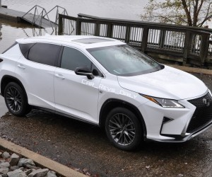 Exclusive Animated Renderings 2017 Lexus Rx L Is Lwb 7 Seat Variant
