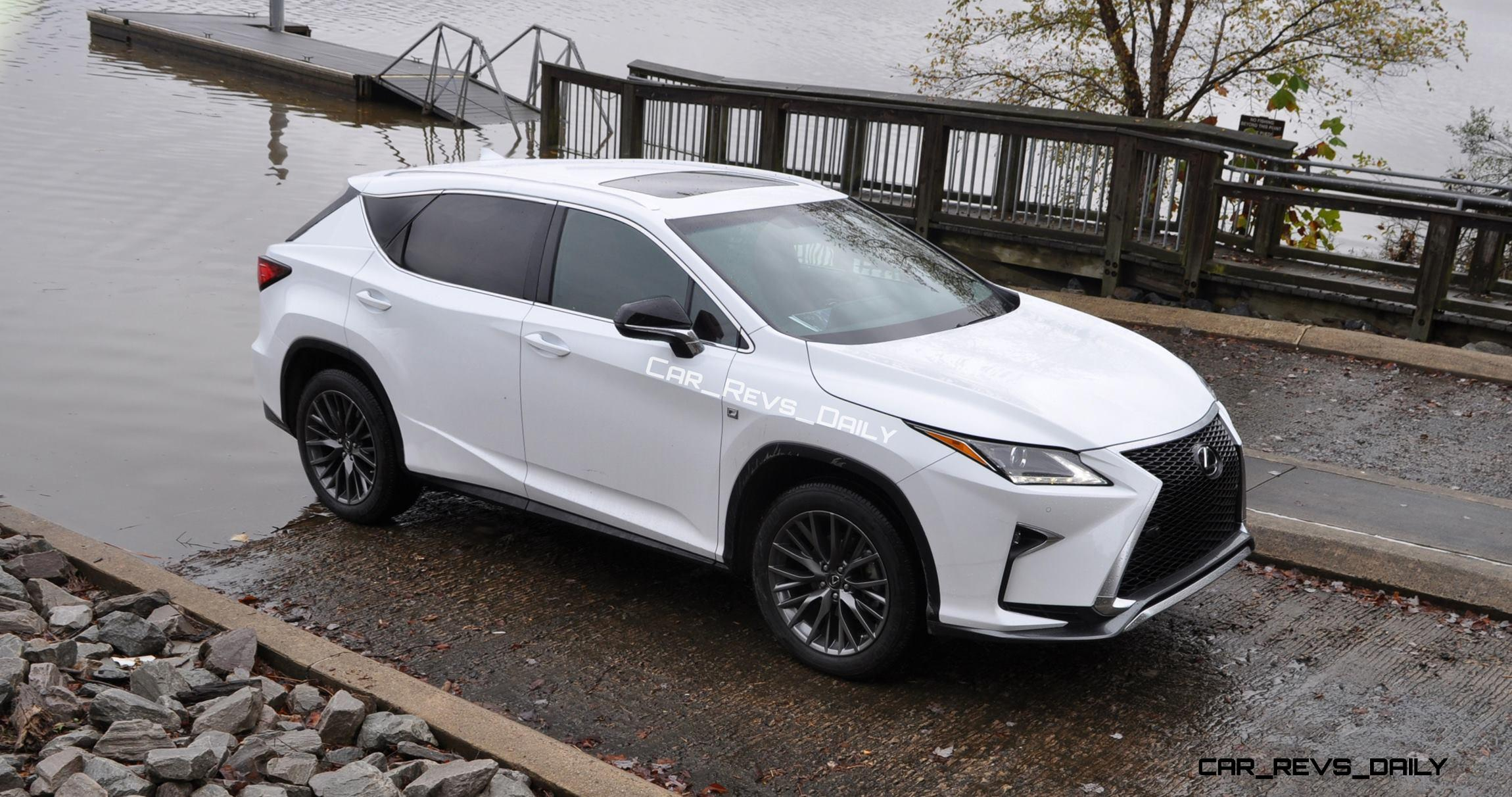 Exclusive Animated Renderings 2017 Lexus Rx L